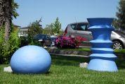 Entstehungsort des Bildes ist der Golfplatz in Kematen an der Krems, bei einer Ausstellung beim Damentournier