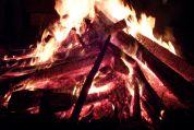 Das Feuer der Liebe, das ewig brennt